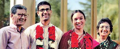 Alok Lathi family