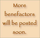 more benefactors will be posted soon