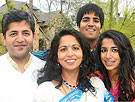photo Dr. Urmil Shukla and his family