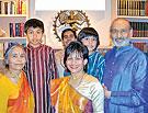 photo Bhagawandas Lathi and his family