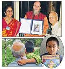 photo Narayana Rao and his family