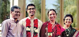 The Ashok Lathi family
