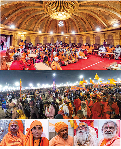 pics  of crowds of pilgrims and swamijis