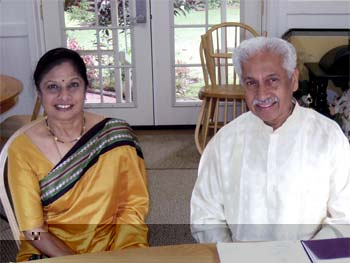 Dr. and Mrs. Gowda